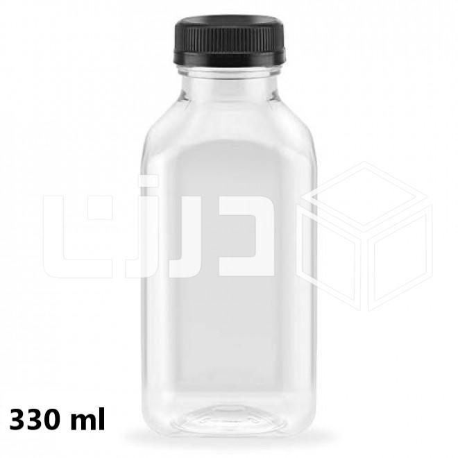 قارورة بلاستيك شفافة مقاسات متعددة متجر درزن