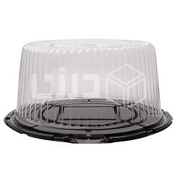 علب الكيك الشفافة قطر 31 سم ارتفاع 14 سم