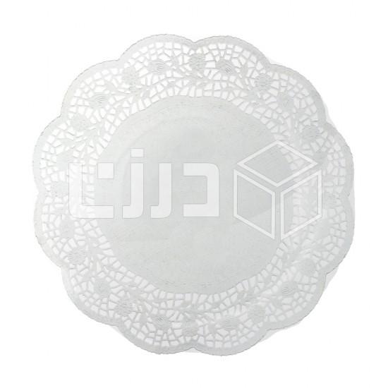 ورق دانتيل دائري - مقاسات متعددة