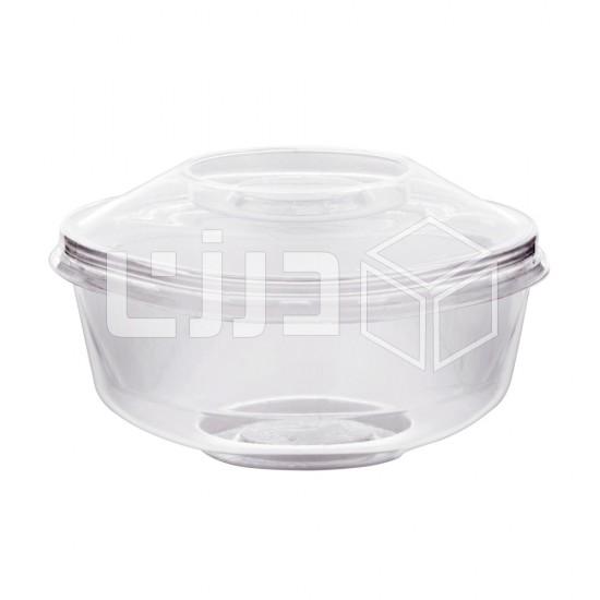 كوب حلى دائري - غطاء و قاعدة 200 مل (شدة 12 حبة )