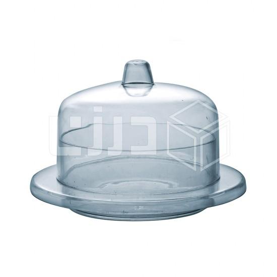 علب تقديم دائرية صغيرة بغطاء 60 مل (شدة ٦ حبات نص درزن)