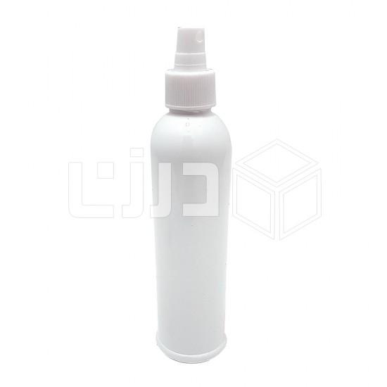 علب بخاخ أبيض  250 مل - غطاء شفاف