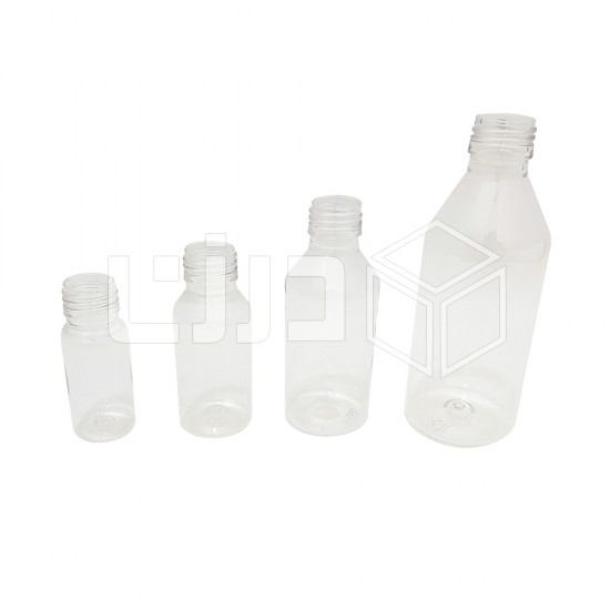 قارورة زيت بلاستيك شفافة - مقاسات متعددة
